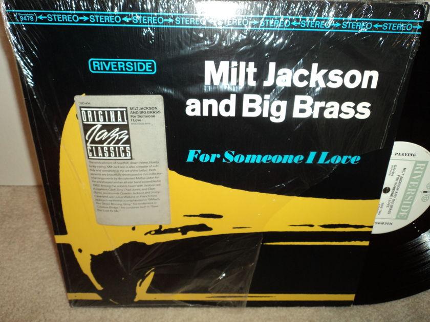 Milt Jackson and Big Brass - For Someone I Love Riverside OJC 404