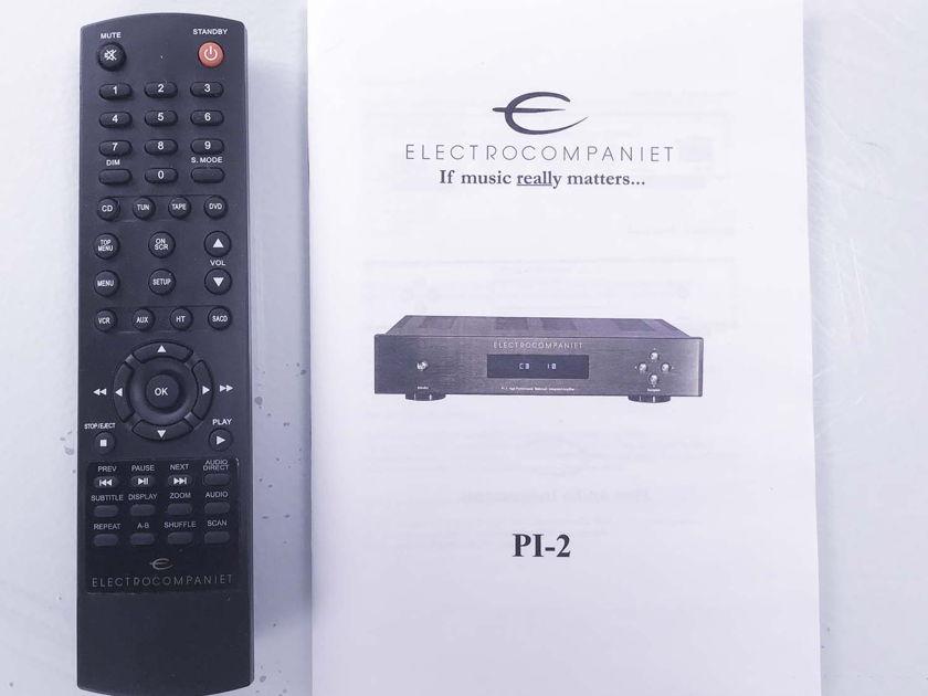 Electrocompaniet  Pl-2 B Stereo Integrated Amplifier; Black (10414)