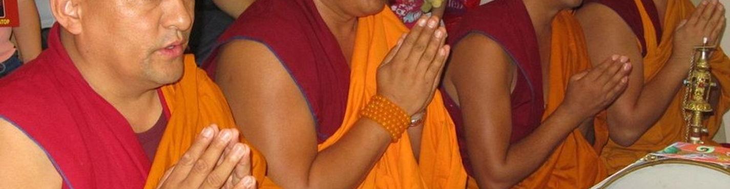 В гости к тибетским монахам