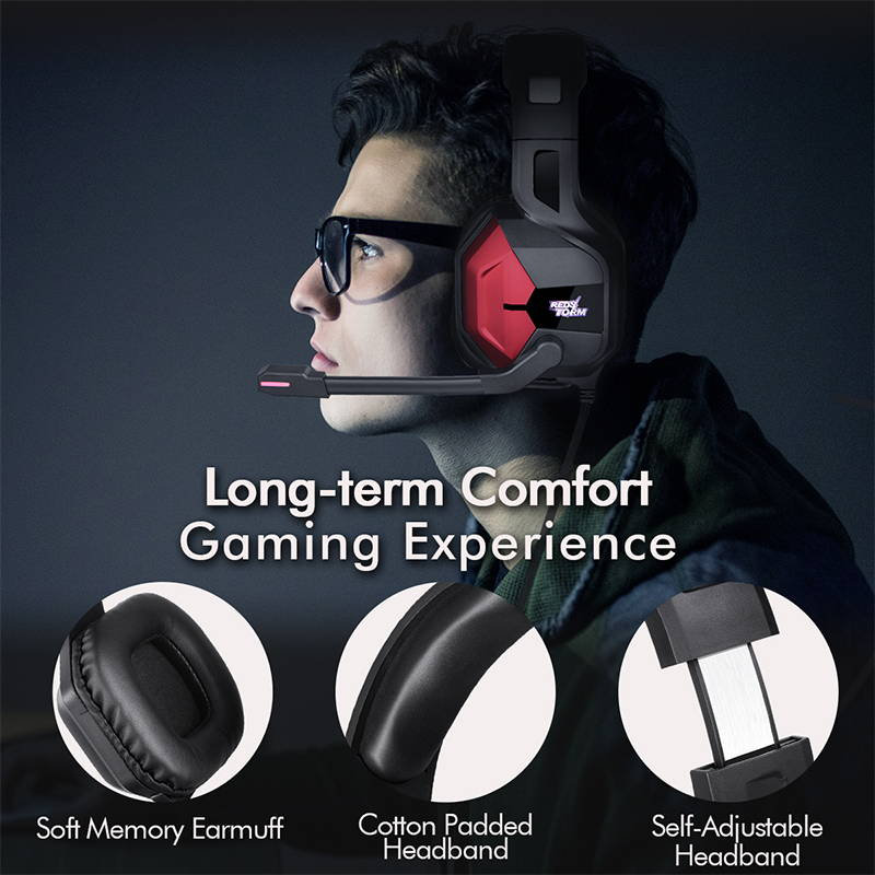Comfortable game headset