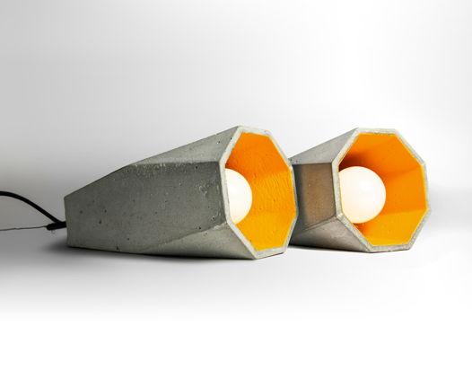Светильник из бетона TRAPEZE