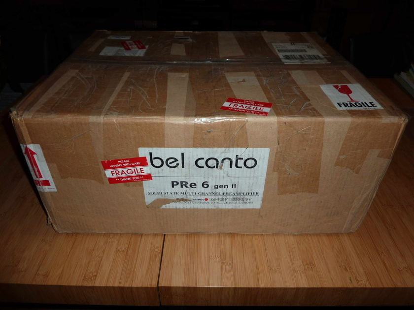 Bel Canto Pre 6 Gen II (7.1 Analog Preamp) [Perfect OPPO players]