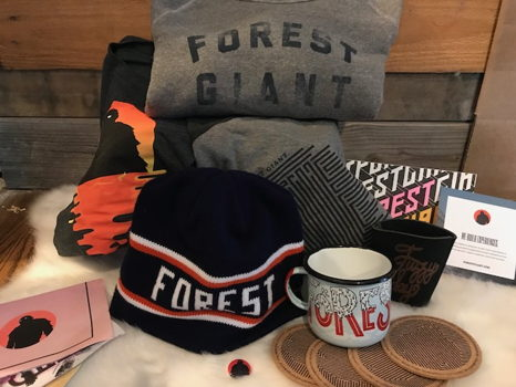 Forest Giant Gift Basket