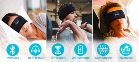Sleep Headphones, Headband Headphones, Best Headphones For Sleep
