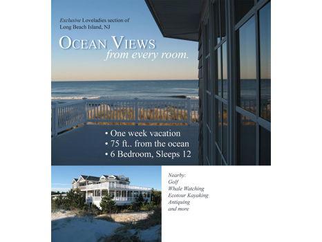 Ocean Views from Every Room - Loveladies, NJ