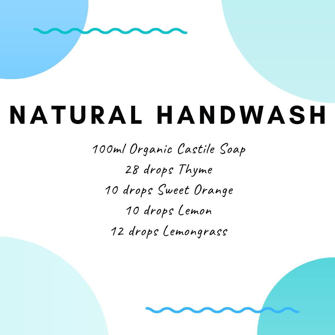 natural hand wash recipe