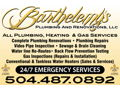 Video Plumbing Inspection Service from Barthelemy's Plumbing and Restoration Services
