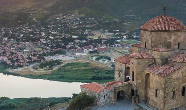 Мцхета - древняя столица Грузии.