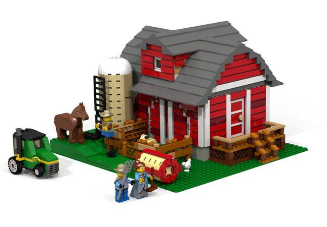Red Barn lego
