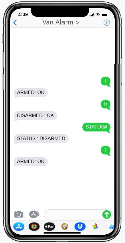 smart360 van alarm