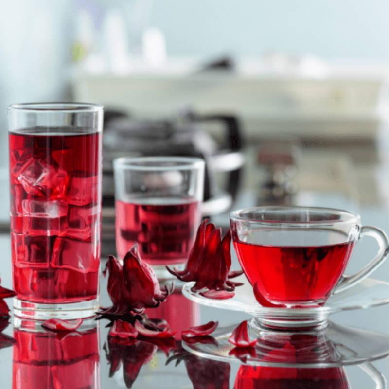 Hibiscus boissons