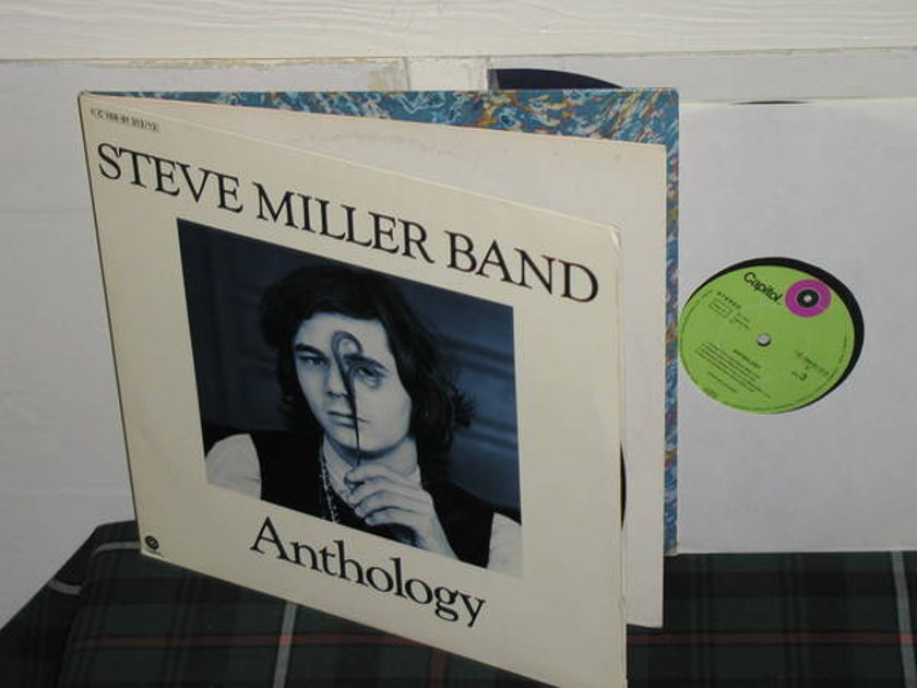 Steve Miller Band - Anthology GERMAN import w/insert 2lp (pics)