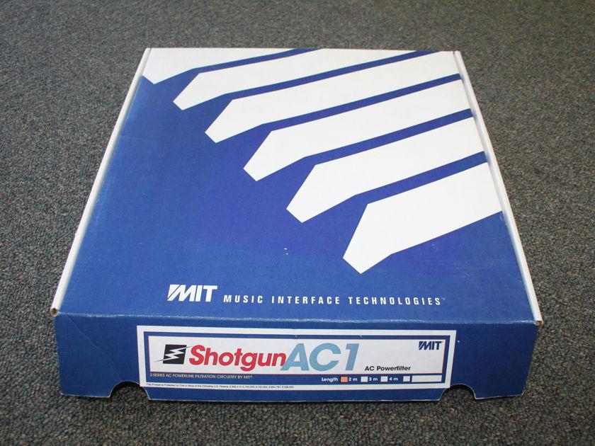 MIT Shotgun AC 1 powercord 2m -- GORGEOUS -- (see pics)