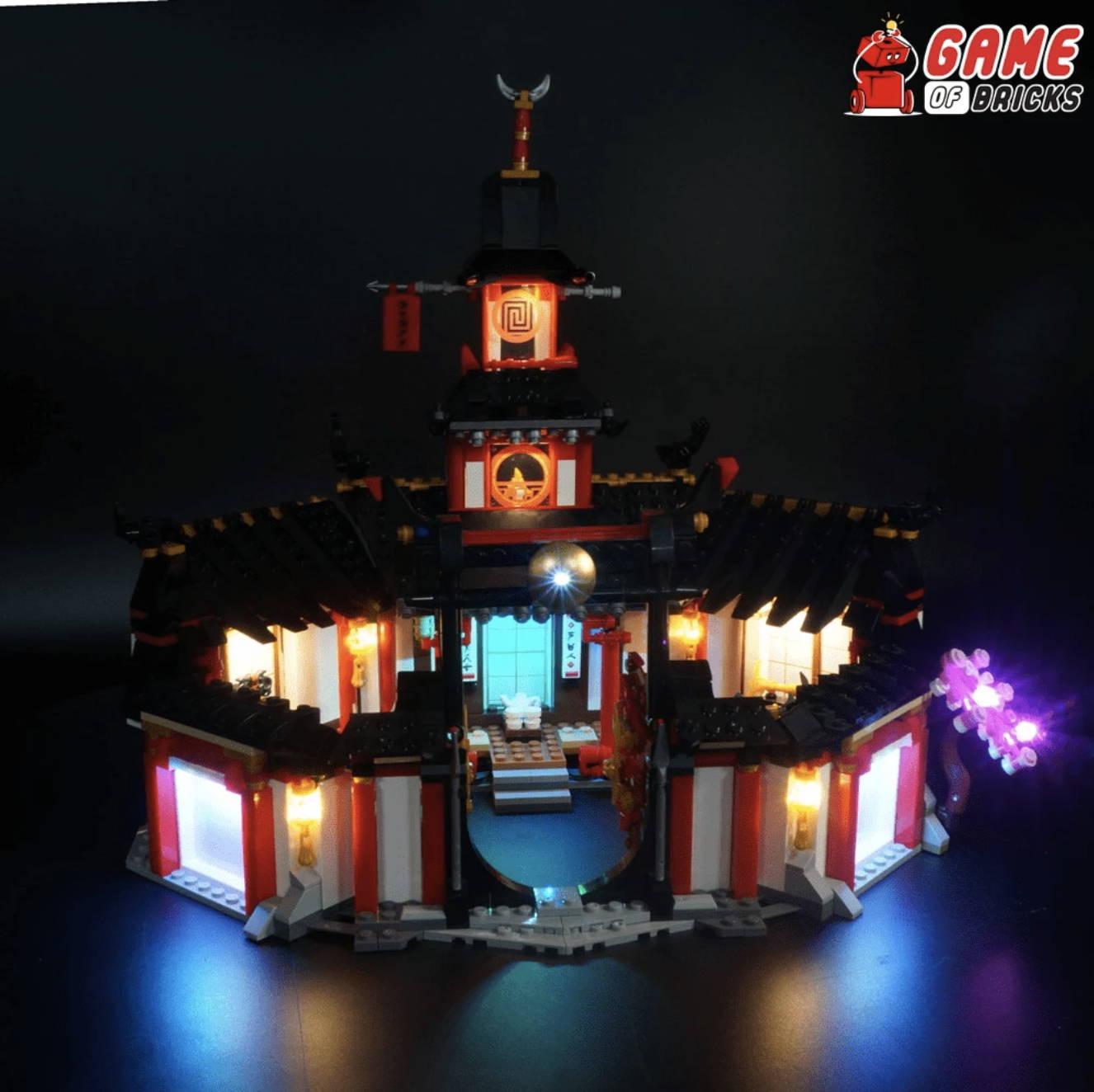 lego night light MONASTERY OF SPINJITZU