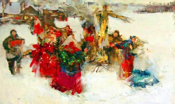 Масленица - широкая боярыня в Звенигороде