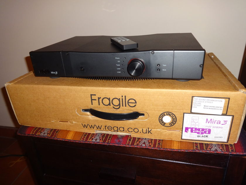 rega mira 3 integrated amplifier solid state audiogon. Black Bedroom Furniture Sets. Home Design Ideas
