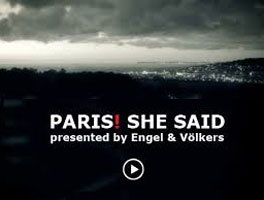 Paris! She said