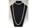 Lavender Amethyst & Pearls Necklace
