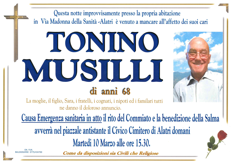 Antonio (Tonino) Musilli