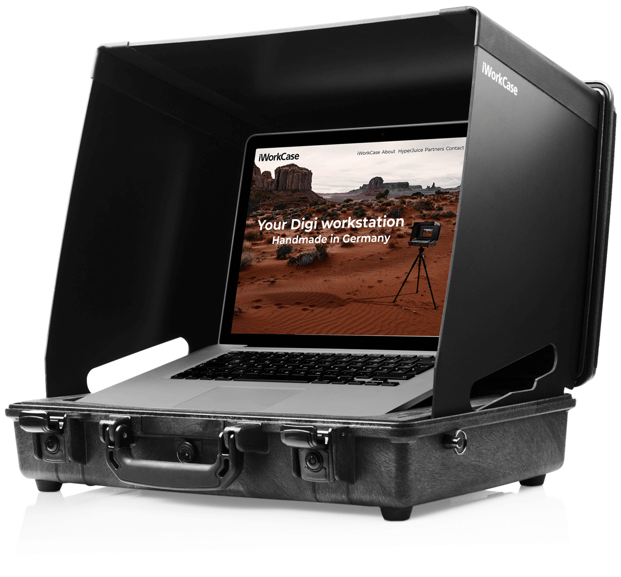 iWorkCase digital capture digicase for MacBook Pro