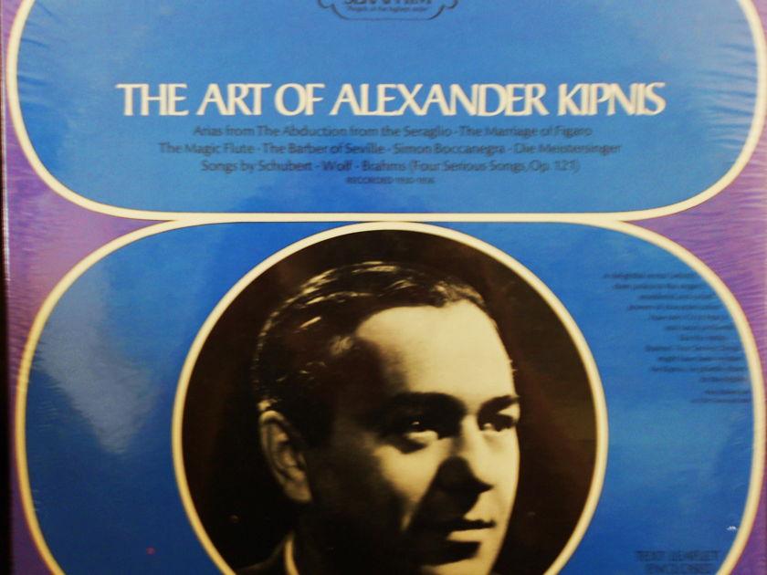FACTORY SEALED ~ALEXANDER KIPNIS ~ - THE ART OF ALEXANDER KIPNIS ~ SERAPHIM 60076 (1968)