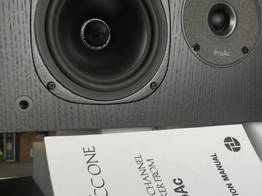 Proac Response CC One Ctr Channel Speaker USED (Finish: BLACK)