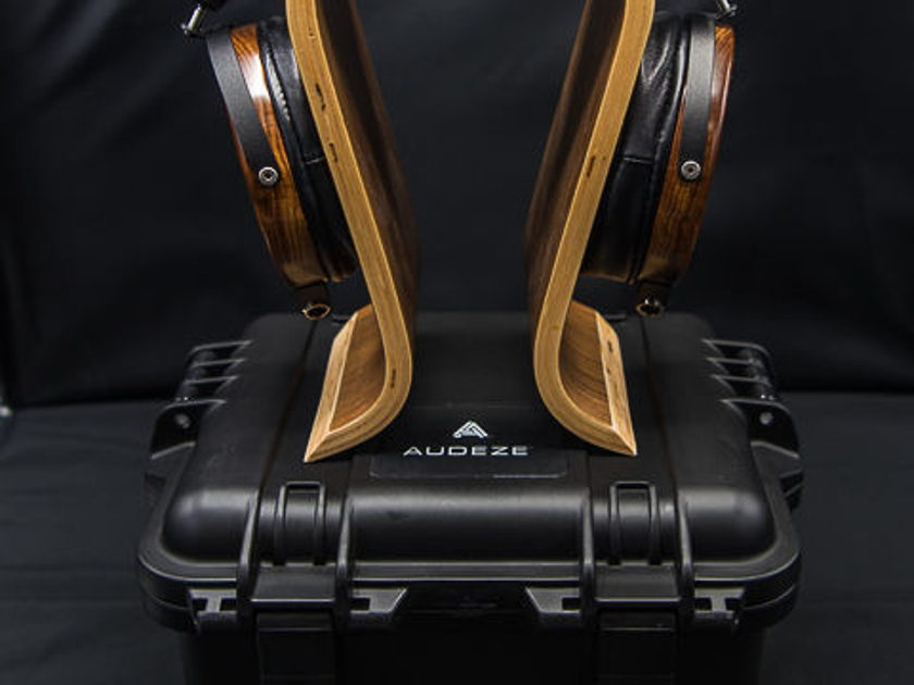"Audez'e LCD-2 Fazor Headphones - Latest Model - Lambskin Pads / Balanced and 1/4"" Cable / Pelican Case"