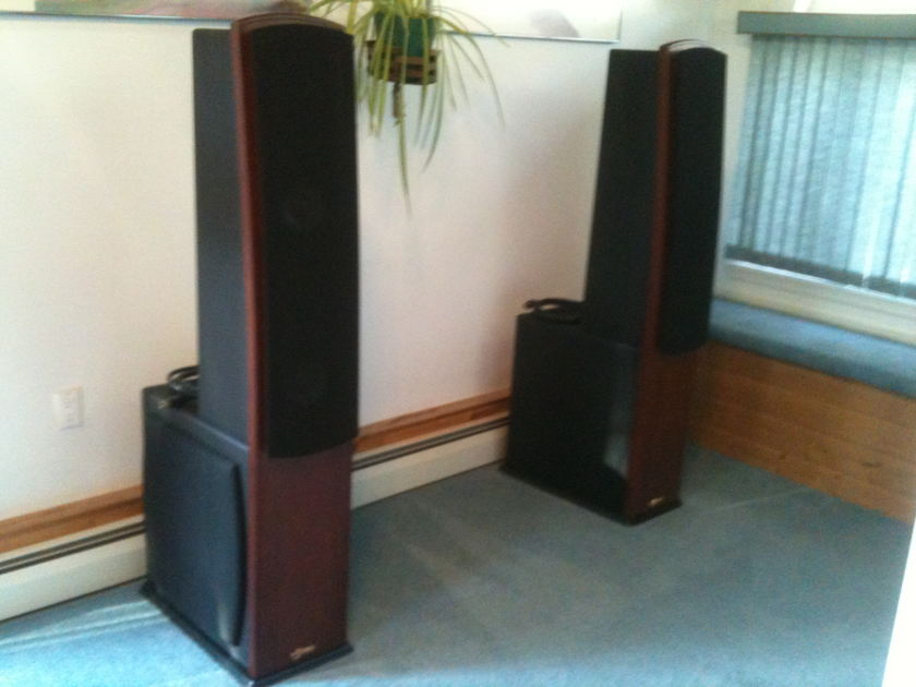 Genesis APM1  Full Range Floor Standing Speakers