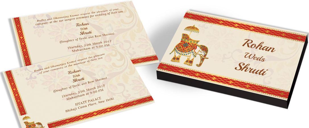 Classic Marriage Invitation