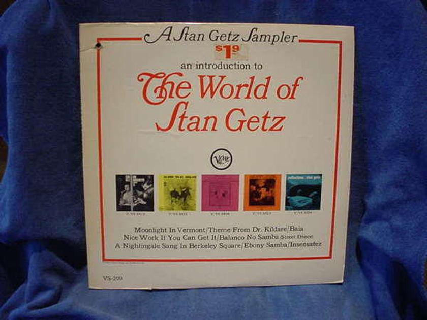 Stan getz - The World of verve vs-200 usa