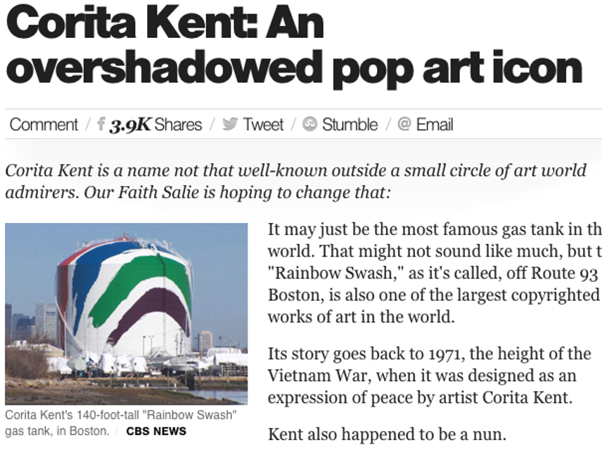 Corita Kent, Overshadowed Icon