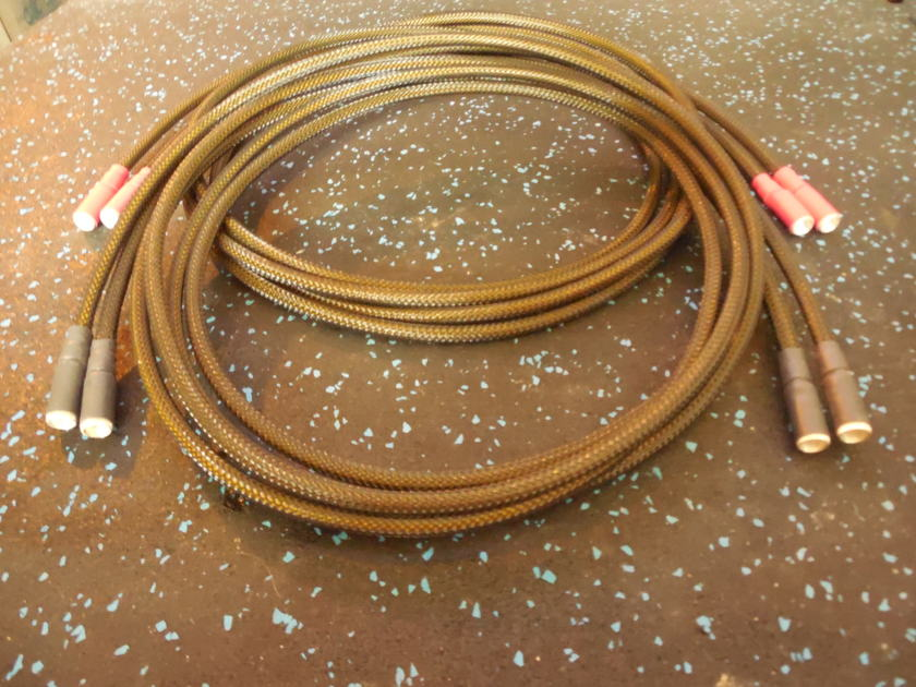 Black Shadow LYRE 2 Meter Convertible Speaker Cable System