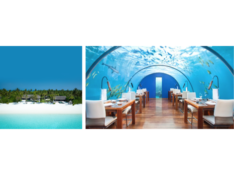 3-Night Stay at Conrad Maldives Rangali Island & 5-Night Stay at One&Only Reethi Rah in  Maldives