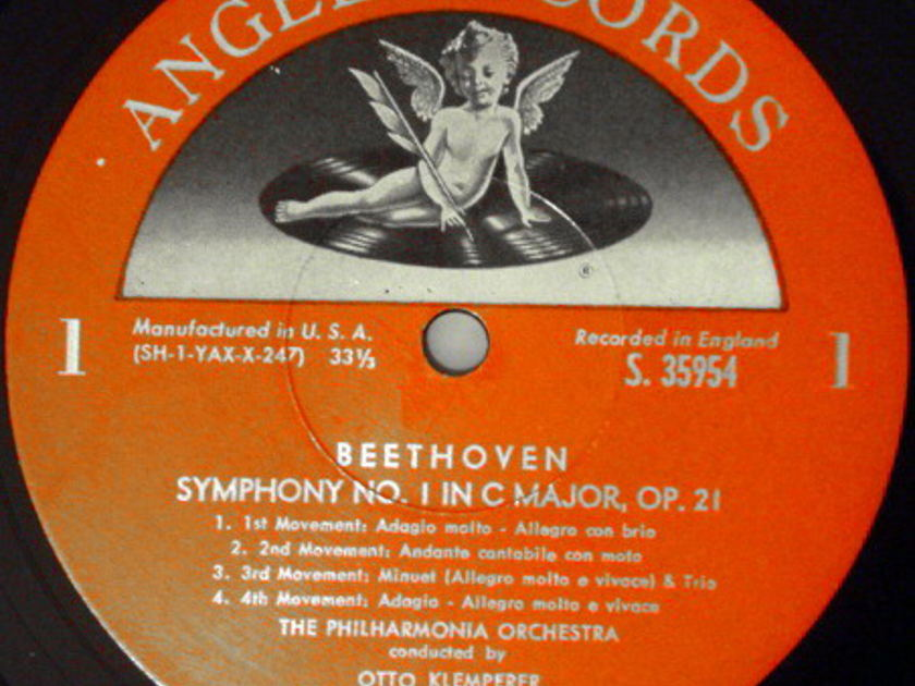 EMI Angel Semi-Circle / KLEMPERER, - Beethoven The Nine Symphonies,  NM, 8 LP Box Set!