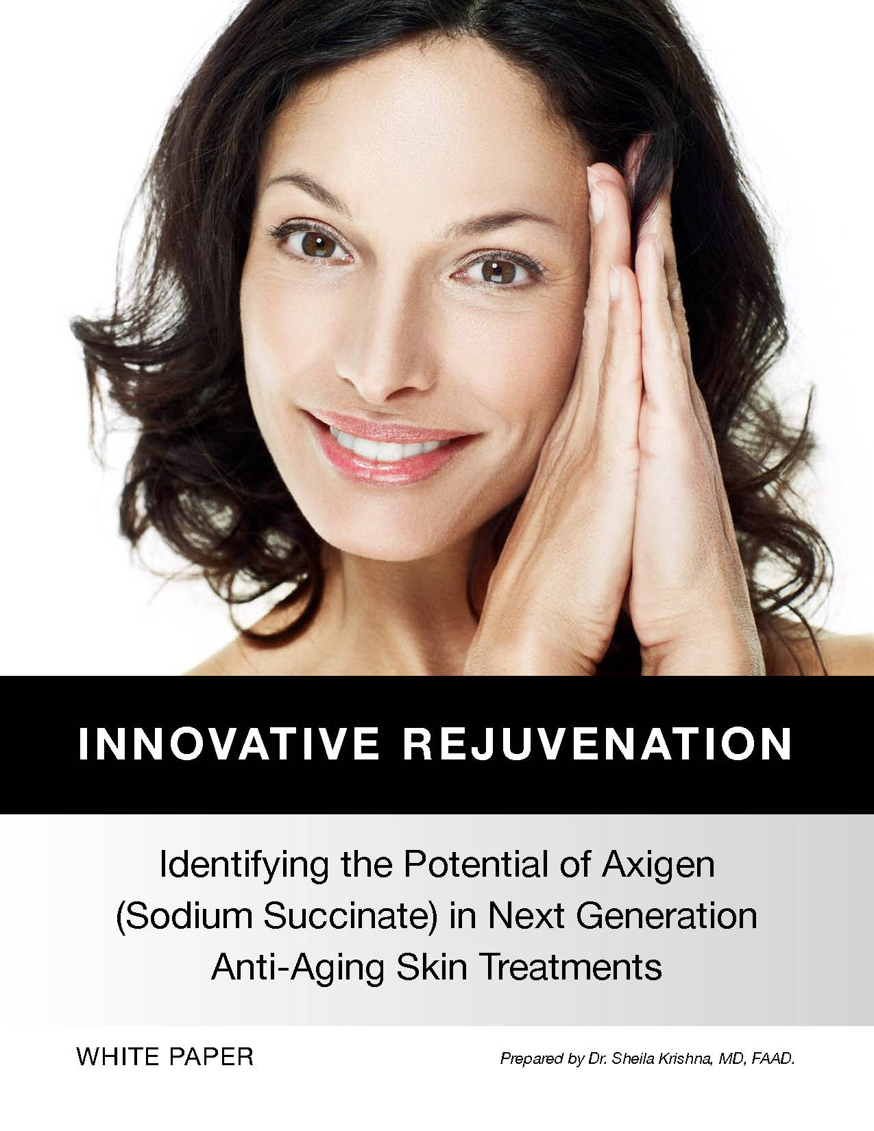 White paper discussing anti-aging skincare, the role of Agixen in skin rejuvenation