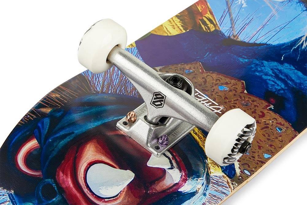 Ruote skateboard da strada e skate park