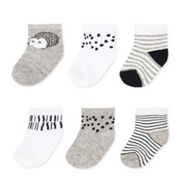 Cloud Island infant girl socks