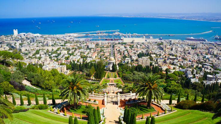 Haifa's Ba'hai Gardens