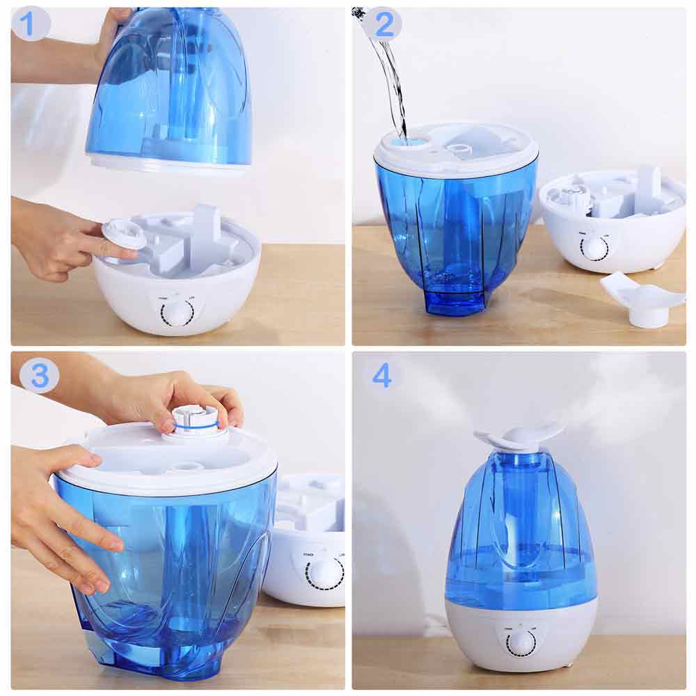 how to set up humidifier, humidifier for homes, humidifier for children