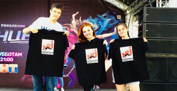 Команда Радио ENERGY-Казань зажгла на всероссийском танцевальном фестивале - Новости радио OnAir.ru