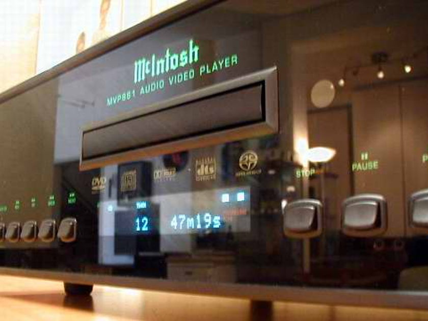 McIntosh MVP-861 DVD / CD Player MINT