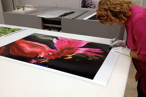 Artwork printing services