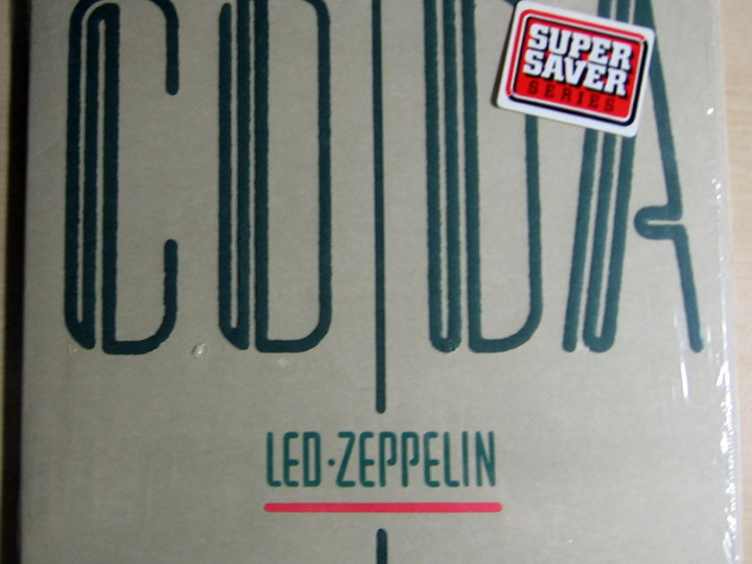 Led Zeppelin - Coda  - 1982  Swan Song ‎90051-1