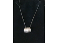 Keeping It Classic - This diamond necklace slider is a fun take on a traditional pendant!
