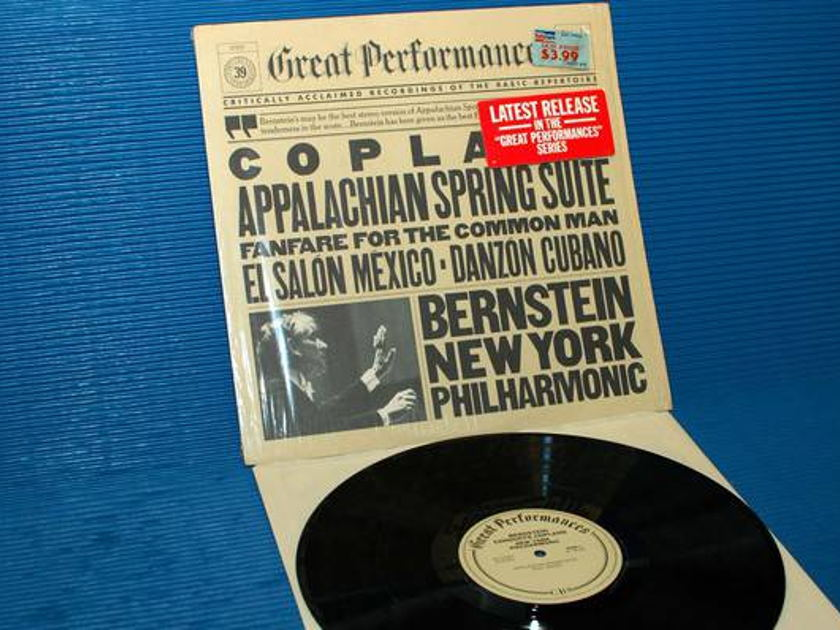 "COPLAND/Bernstein - - ""Appalachian Spring Suite"" -  CBS 1982"