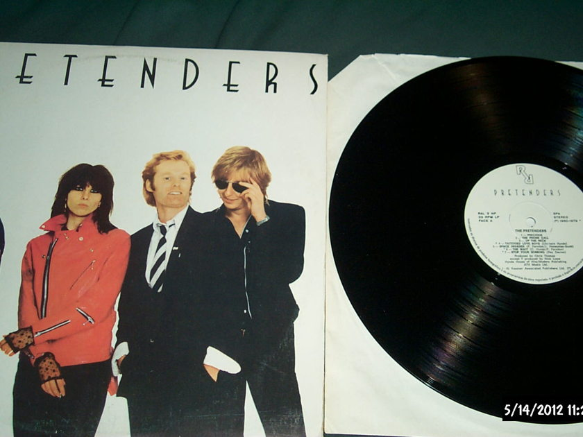 Pretenders - S/T LP NM Import Vinyl Pressing