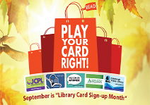 Image for Play Your Card Right This September