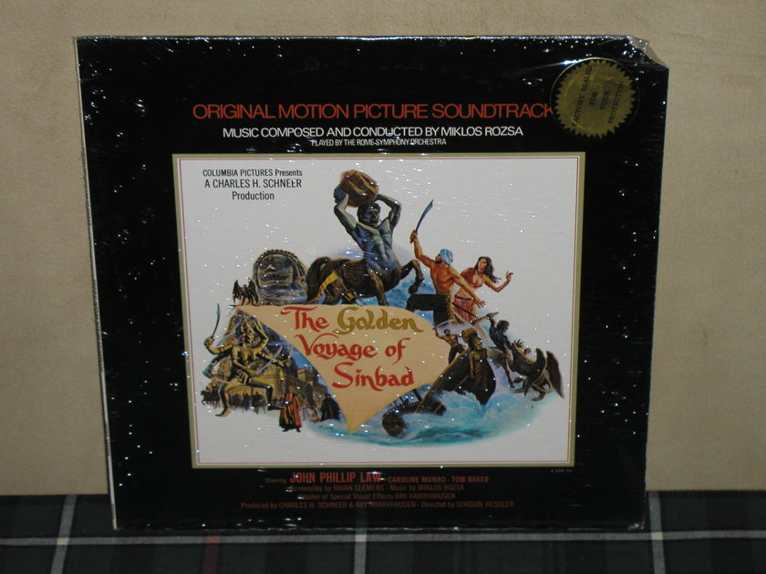 Miklos Rosza/OST - The Golden Voyage Of Sinbad SEALED United Artists from 1974