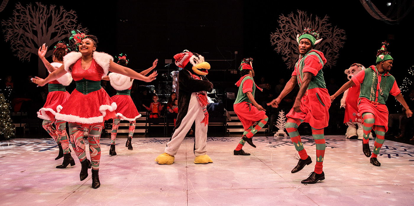 Step Afrika!'s Magical Musical Holiday Step Show at the Shubert Theatre
