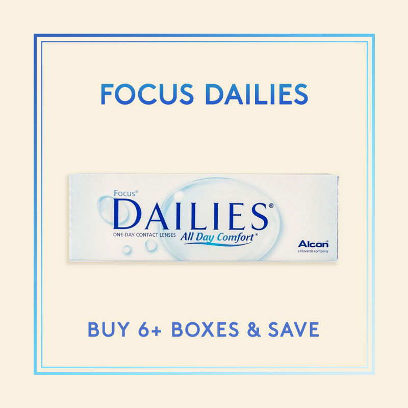 Focus Dailies Contact Lenses